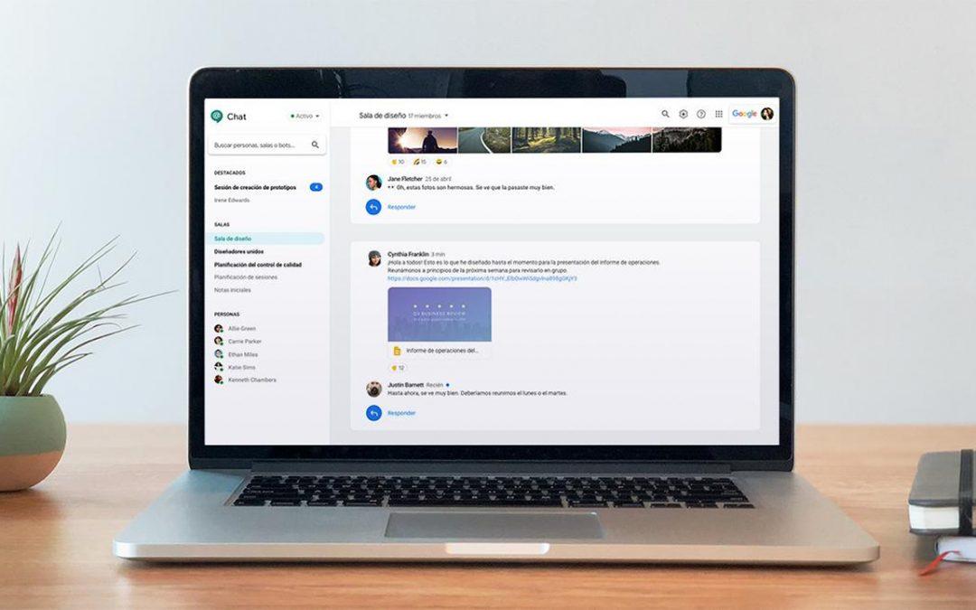 Empieza la transición de Hangouts Clásico a Chat y Meet